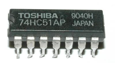 Toshiba 74HC51AP