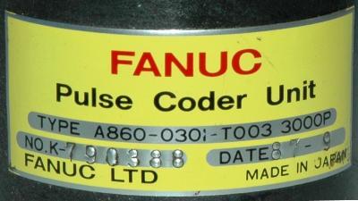 Fanuc A860-0301-T003 label image