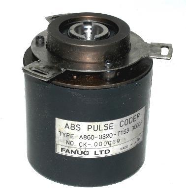 Fanuc A860-0320-T153 front image