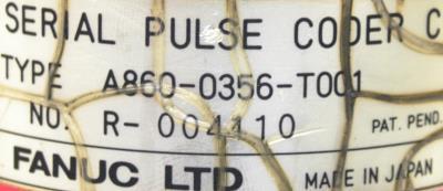Fanuc A860-0356-T001 label image