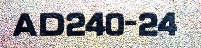ELCO AD240-24 label image