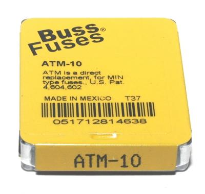 Bussmann ATM-10-BUSSMANN image