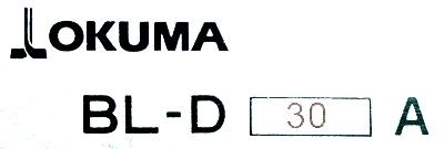 Okuma BL-D30A label image