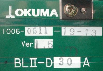 Okuma BLII-D30A label image