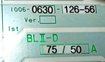 Okuma BLII-D75-50A label image