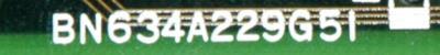 Mitsubishi BN634A229G51 label image