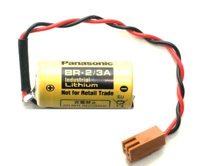 New Refurbished Exchange Repair  Panasonic Batteries BR-2-3A-2PIN Precision Zone