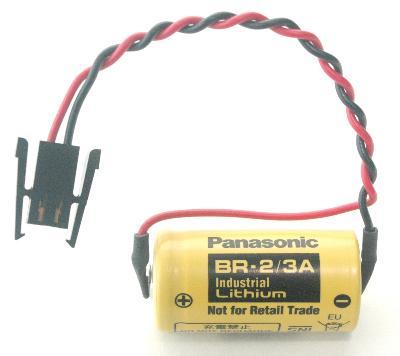 Panasonic BR-2-3A label image
