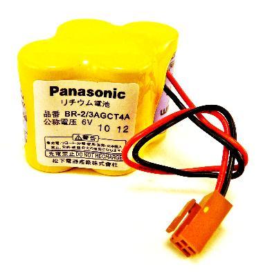 Panasonic BR-2-3AGCT4A label image