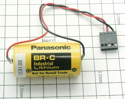 New Refurbished Exchange Repair  Panasonic Batteries BR-C-5PIN Precision Zone