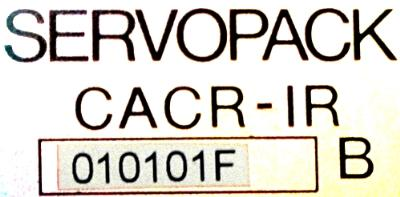 Yaskawa CACR-IR010101FB label image