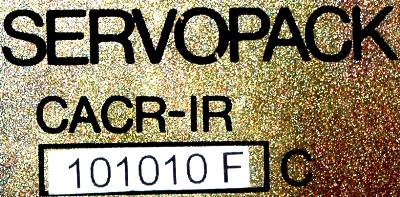 Yaskawa CACR-IR101010FC label image