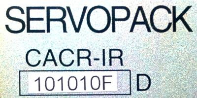 Yaskawa CACR-IR101010FD label image