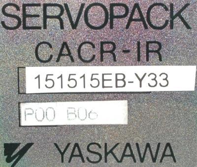 Yaskawa CACR-IR151515EB-Y33 label image
