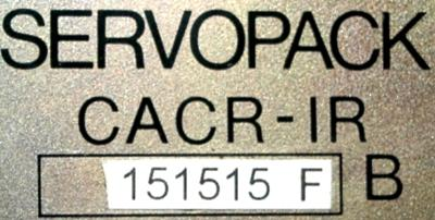Yaskawa CACR-IR151515FB label image
