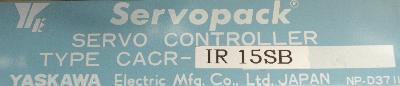 Yaskawa CACR-IR15SB label image