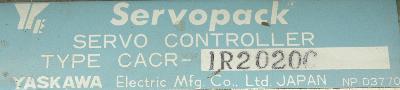 Yaskawa CACR-IR2020C label image