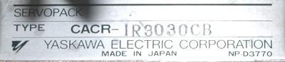 Yaskawa CACR-IR3030CB label image