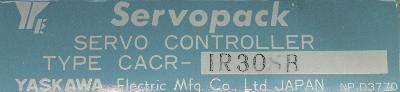 Yaskawa CACR-IR30SB label image