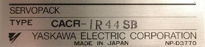Yaskawa CACR-IR44SB label image