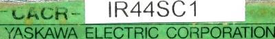 Yaskawa CACR-IR44SC1 label image