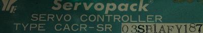 Yaskawa CACR-SR03SB1AF-Y187 label image