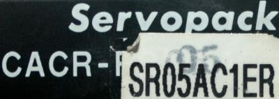 Yaskawa CACR-SR05AC1ER label image