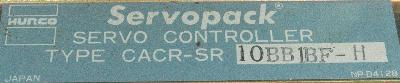 Yaskawa CACR-SR10BB1BF-H label image