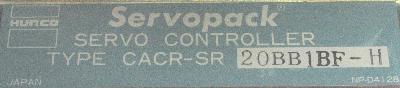 Yaskawa CACR-SR20BB1BF-H label image