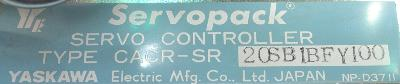 Yaskawa CACR-SR20SB1BF-Y100 label image