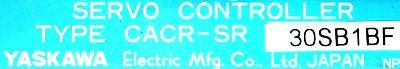 Yaskawa CACR-SR30SB1BF label image