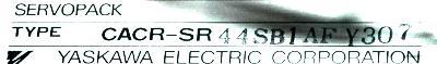 Yaskawa CACR-SR44SB1AF-Y307 label image