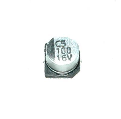 Lelon Electronics Corp CAP-16V-100UF-SMD front image