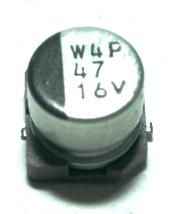 Panasonic CAP-16V-47UF-5.4-5-SMD front image