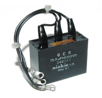 New Refurbished Exchange Repair  Nichicon Capacitors CAP-240V-0.5UF-47-21-35 Precision Zone