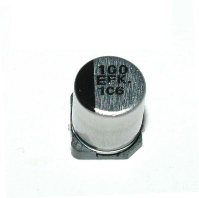 Matsushita CAP-25V-100UF-7.7-6.3-SMD front image