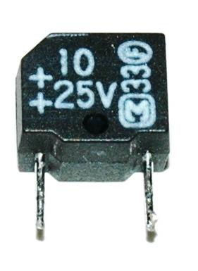 Matsushita CAP-25V-10UF front image
