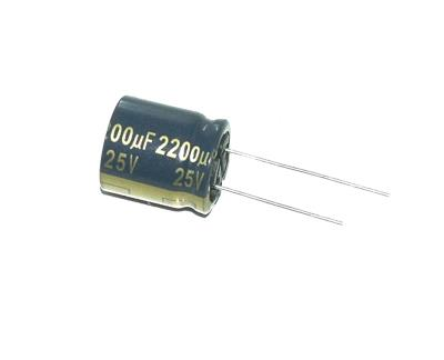 Panasonic CAP-25V-2200UF-20-18-7.5 front image