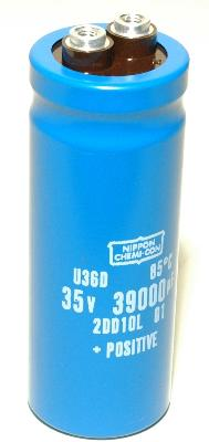 Nippon Co CAP-35V-39000UF-93-35-12