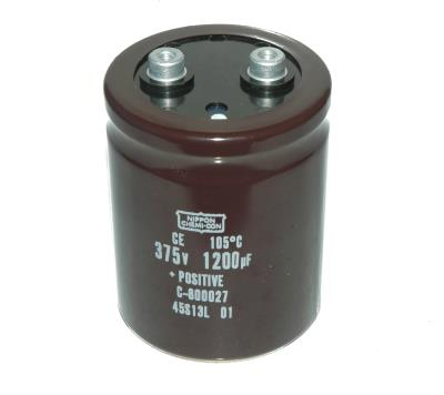 Nippon Co CAP-375V-1200UF-86-63-28