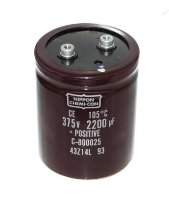 Nippon Co CAP-375V-2200UF-95-77-32