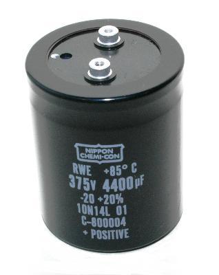 Nippon Co CAP-375V-4400UF-101-78-31 front image
