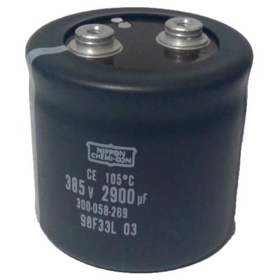 New Refurbished Exchange Repair  Nichicon Capacitors CAP-385V-2900UF-76-76-32 Precision Zone