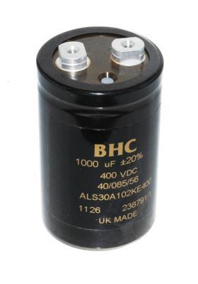 BHC CAP-400V-1000UF-86-50-22 front image