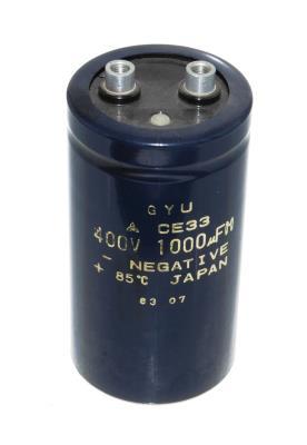Matsushita CAP-400V-1000UF-96-51-22 front image