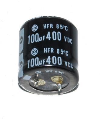 Hitachi, Ltd CAP-400V-100UF-30-25-9