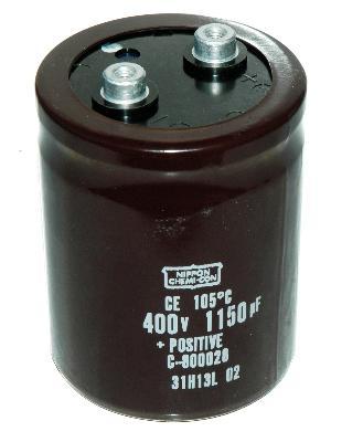 Nippon Co CAP-400V-1150UF-85-65-28 front image