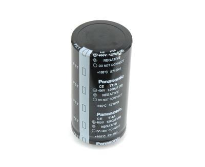 Panasonic CAP-400V-1200UF-85-40-22 front image