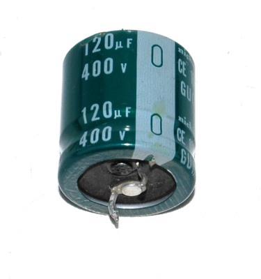 New Refurbished Exchange Repair  Nichicon Capacitors CAP-400V-120UF-35-25-9 Precision Zone