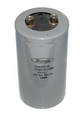 MARCON CAP-400V-1500UF-127-65-28 front image